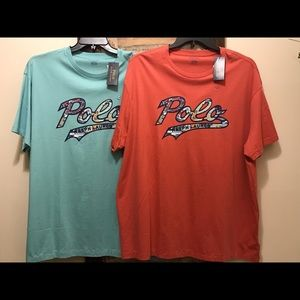 Polo Ralph Lauren mens graphic T-shirt NWT